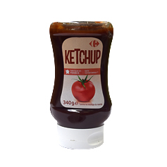 340G ketchup souple Carrefour