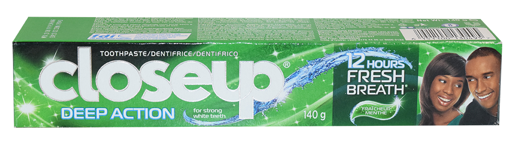 Dentifrice Close Up – Deep Action